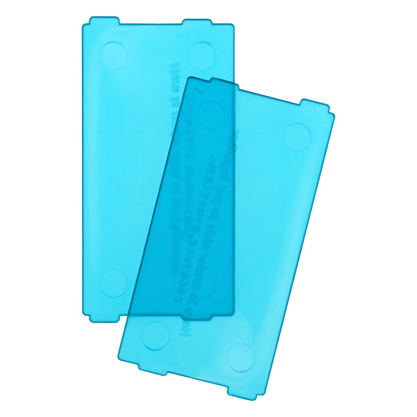 Like-it Bricks Narrow Divider Blue Pkg/2