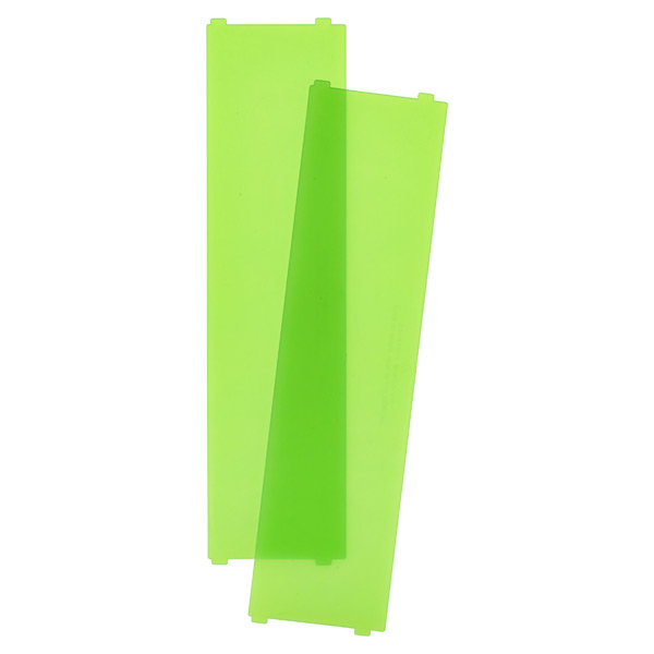 Like-it Bricks Wide Short Divider Green Pkg/2