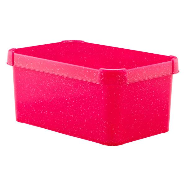 Glitter Deco Box Pink