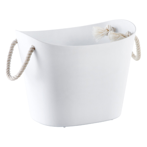 Small Balcolore Tub White