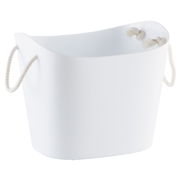 Large Balcolore Tub White