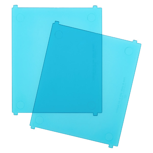 Like-it Bricks Medium Tall Divider Blue Pkg/2