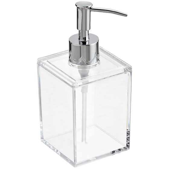 Acrylic Square Pump Dispenser