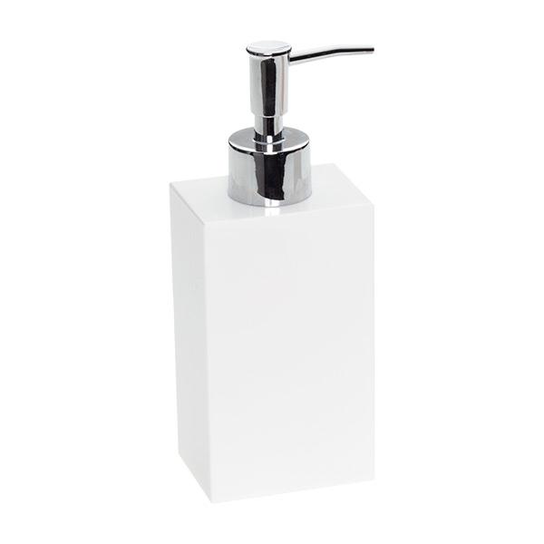 White Soap Dispenser