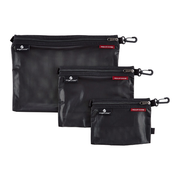 Eagle Creek Pack-It Sac Black Set of 3