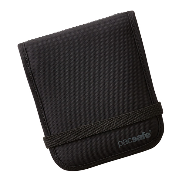 RFID-Blocking Bi-Fold Wallet Black