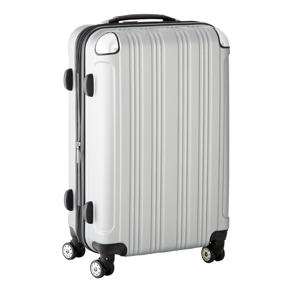 "26"" Sojourn 8-Wheeled Luggage Silver"