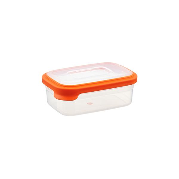 Joseph Joseph 18 oz. Nest Food Storage Orange Lid