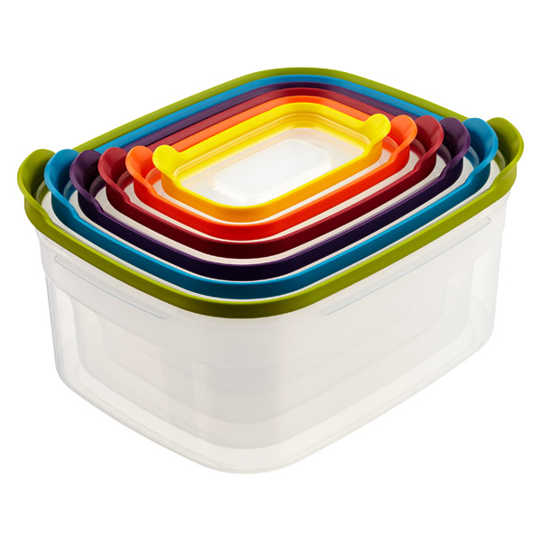 Joseph Joseph Nest Food Storage Multi Set of 6