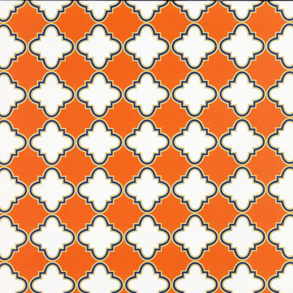 Wrap Casablanca Orange/Navy