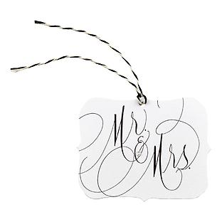 Mr. & Mrs. Gift Tags