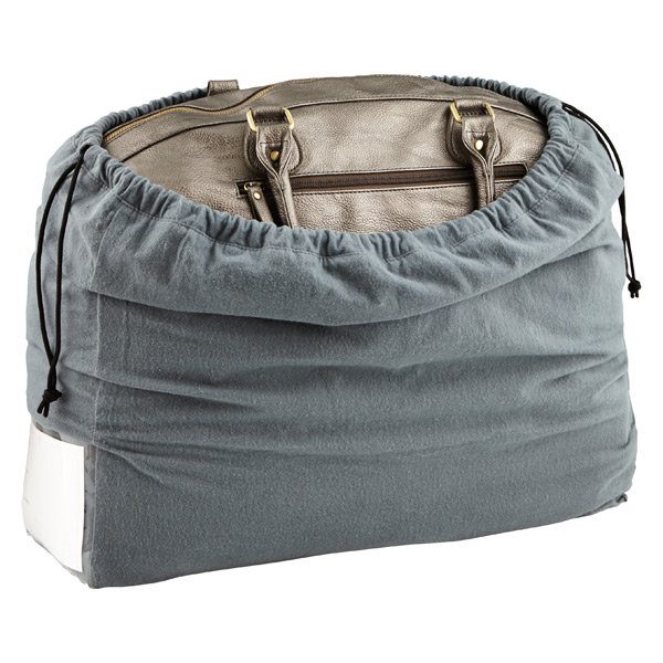 Large Handbag Dust Cover Charcoal