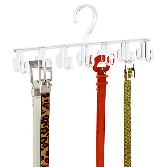 Clarity Horizontal Tie & Belt Rack