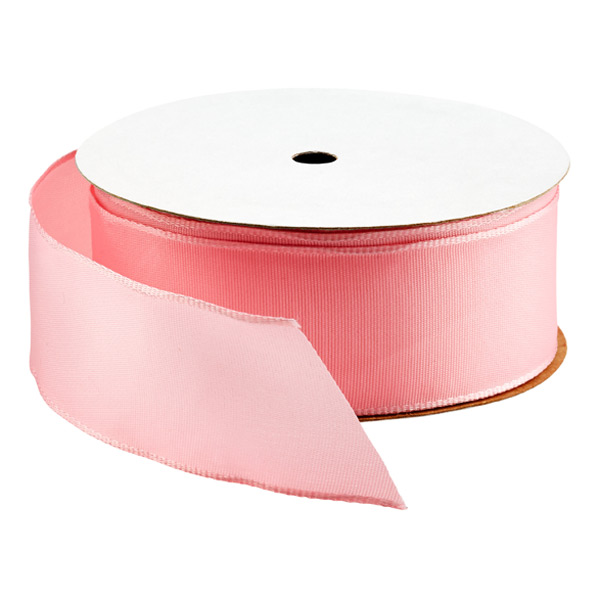 Bright Light Pink Wired Ribbon