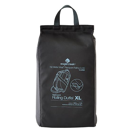 """Eagle Creek Black 36"""" No Matter What Collapsible Rolling Duffel"""