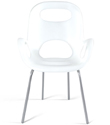 White Oh! Chair by Karim Rashid for Umbra&reg;