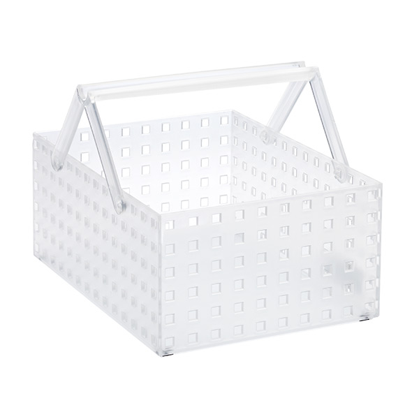 "Like-it Bricks 11"" Wide Tall Tote Translucent"