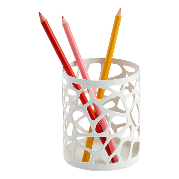 Nest Pencil Cup White