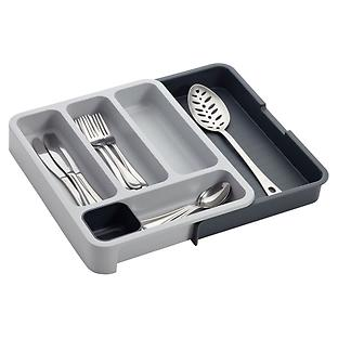 Grey Expandable DrawerStore Cutlery Tray by Joseph Joseph