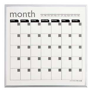 Magnetic Monthly Planner