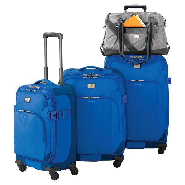 "Eagle Creek™ Blue 25"" Adventure 4-Wheeled Luggage"