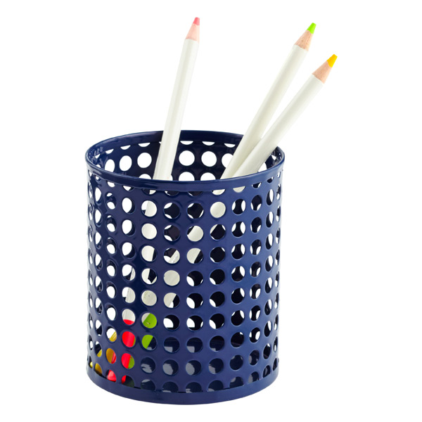 Edison Pencil Cup Navy
