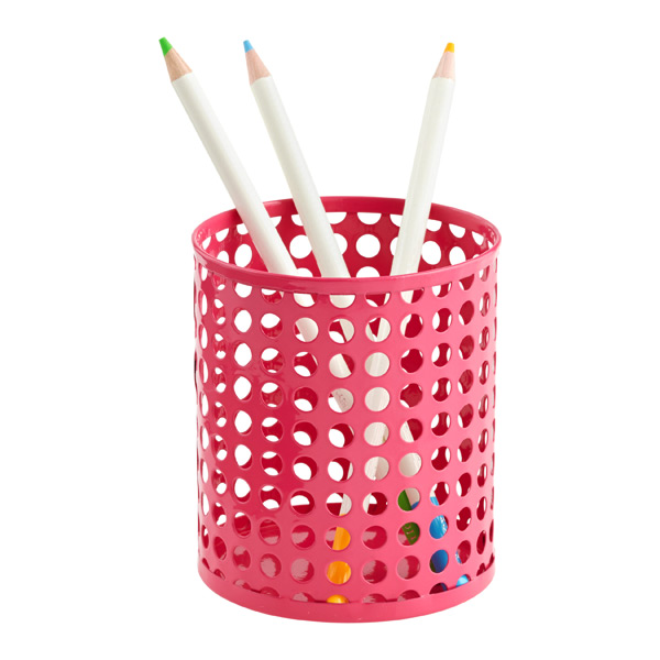 Edison Pencil Cup Pink