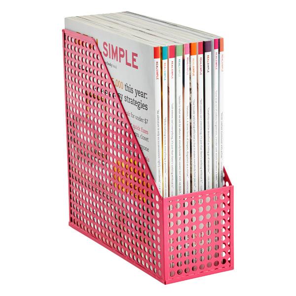 Edison Magazine File Pink