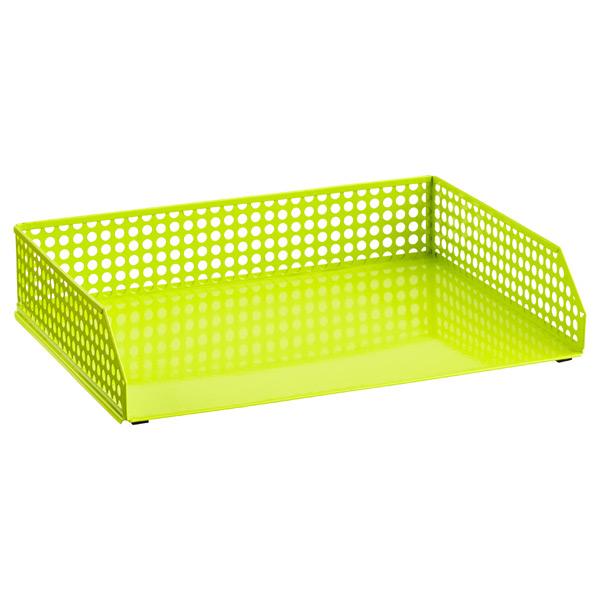 Edison Stacking Letter Tray Green