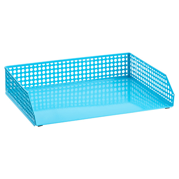 Edison Stacking Letter Tray Blue