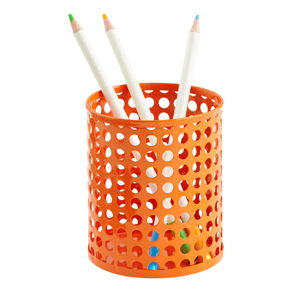 Edison Pencil Cup Orange