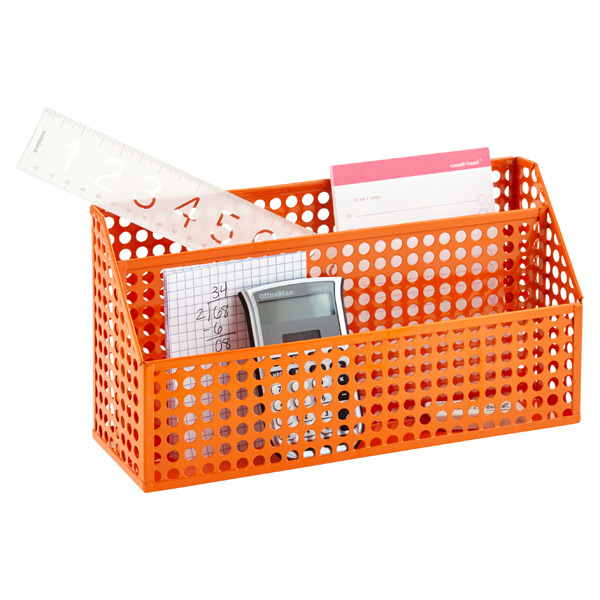 Edison Desktop Organizer Orange