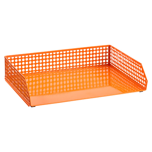 Edison Stacking Letter Tray Orange