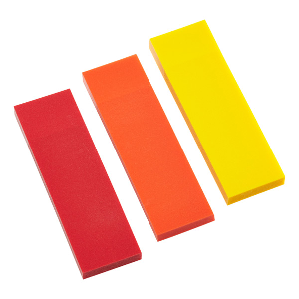 Writable Page Markers Red/Orange/Yellow Pkg/150