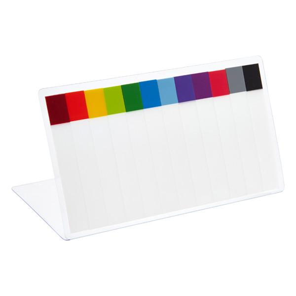Narrow Page Markers Rainbow Pkg/120