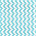 Aqua Wide Chevron Treeless Gift Wrap