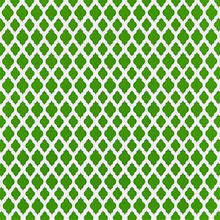 Green Marrakesh Treeless Gift Wrap