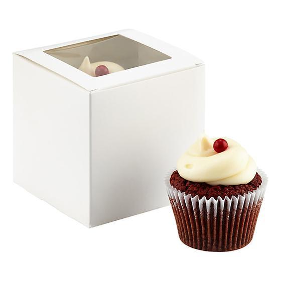 Single Cupcake Window Box