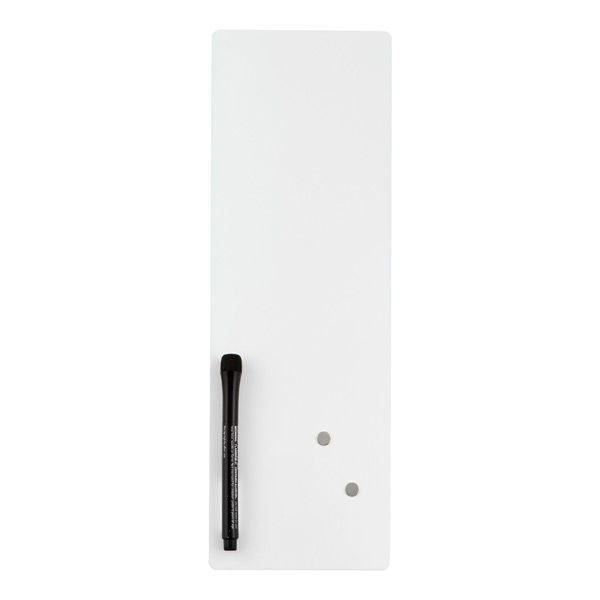 Slim Magnetic Dry Erase Board White