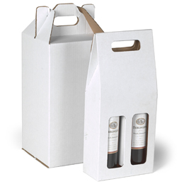 Corrugated Wine Carriers