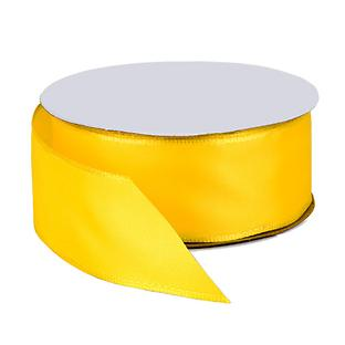 Bright Yellow Wired Ribbon