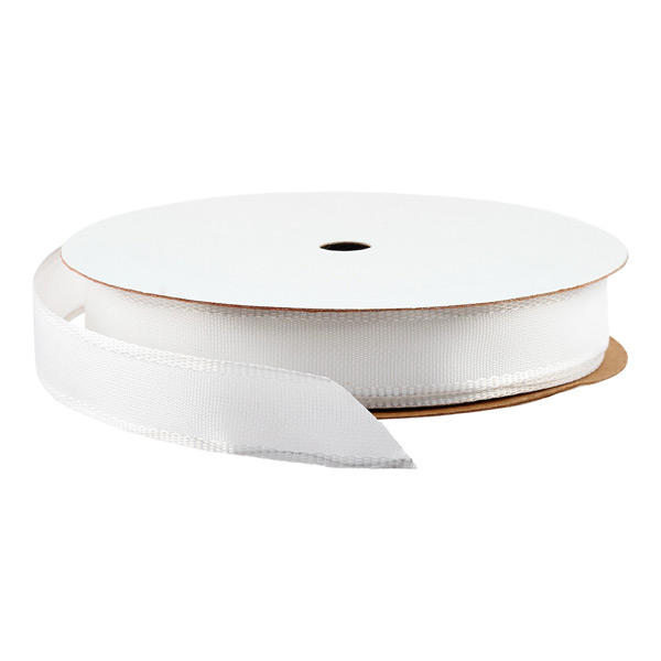 Wired Ribbon Bright White