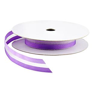 Purple Sheer Two-Tone Ribbon