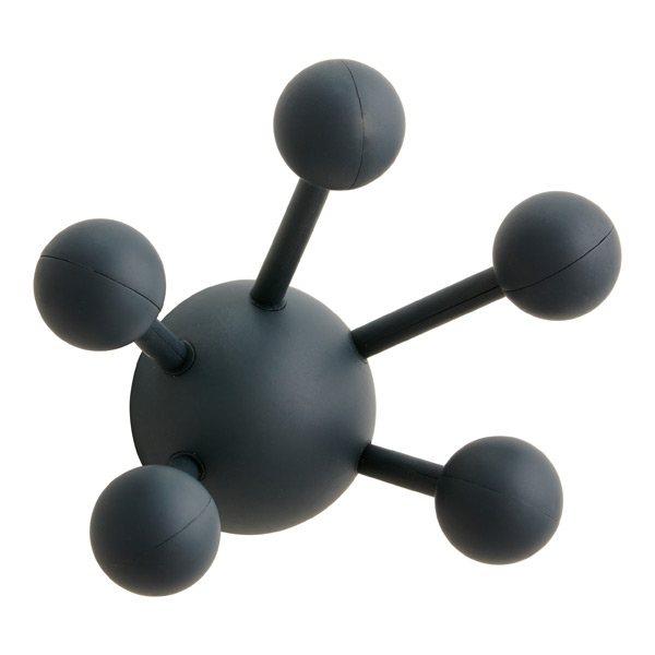 Atom Multi-Purpose Coat Hook Charcoal