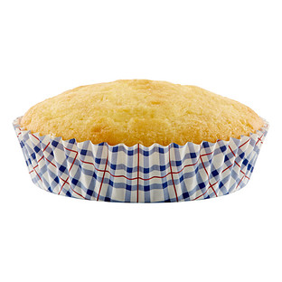 Plaid Ruffled Baking Cup