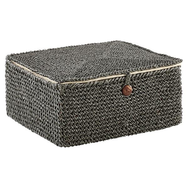 Crochet Box Grey
