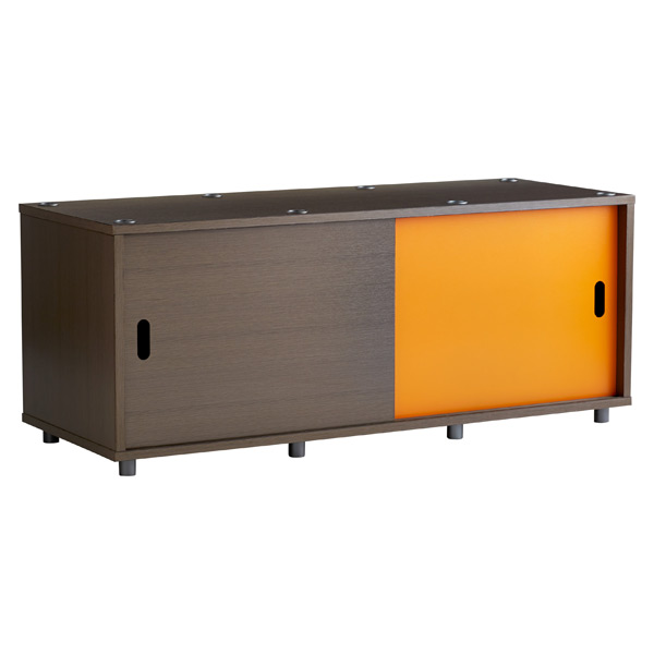 Wide Vario Stacking Console Driftwood/Orange