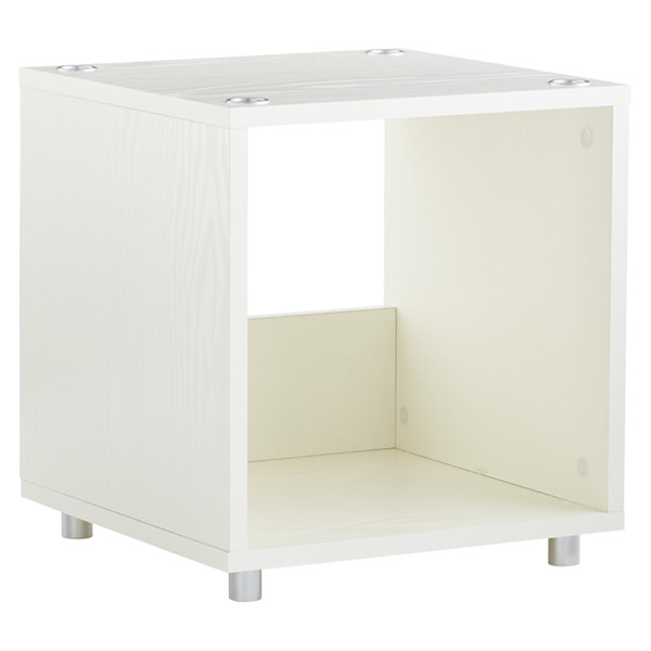 White Vario Shelving Tower