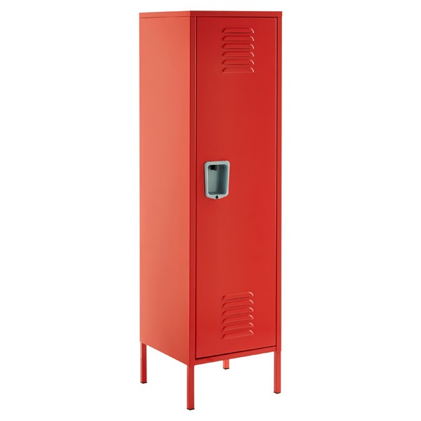 Tall Locker Red