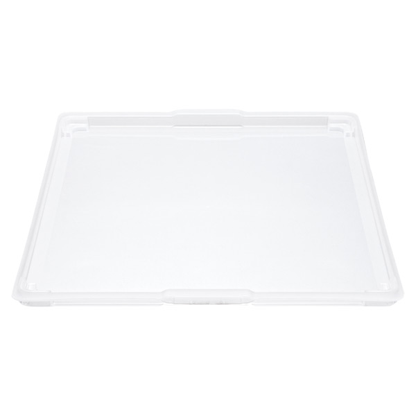 elfa Medium Solid Drawer Lid Translucent
